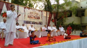 Divya Nagari children Performing in the program