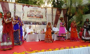 Divya Nagari Girls Performing in the program